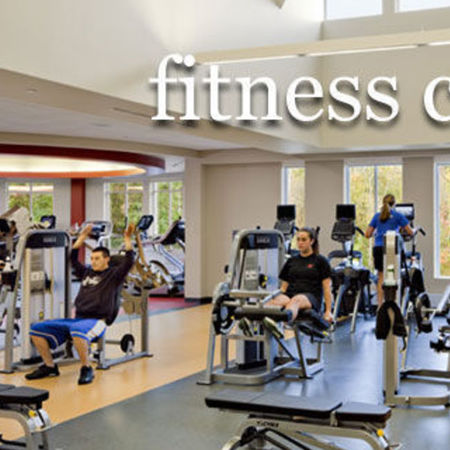 Card large interior fitness center
