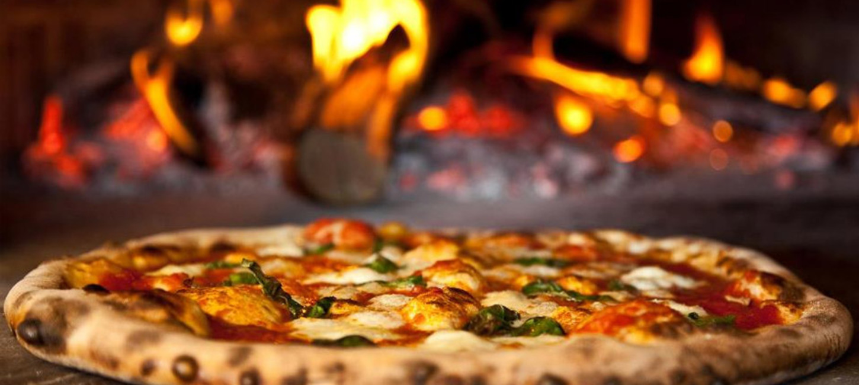 Hero slide woodfire oven pizza