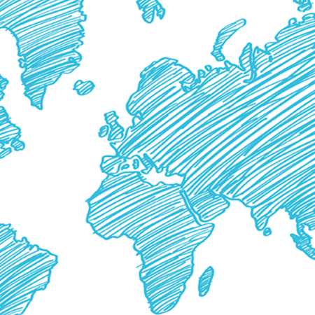 Card market global map
